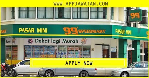 Jawatan Kosong di 99 Speed Mart Sdn Bhd