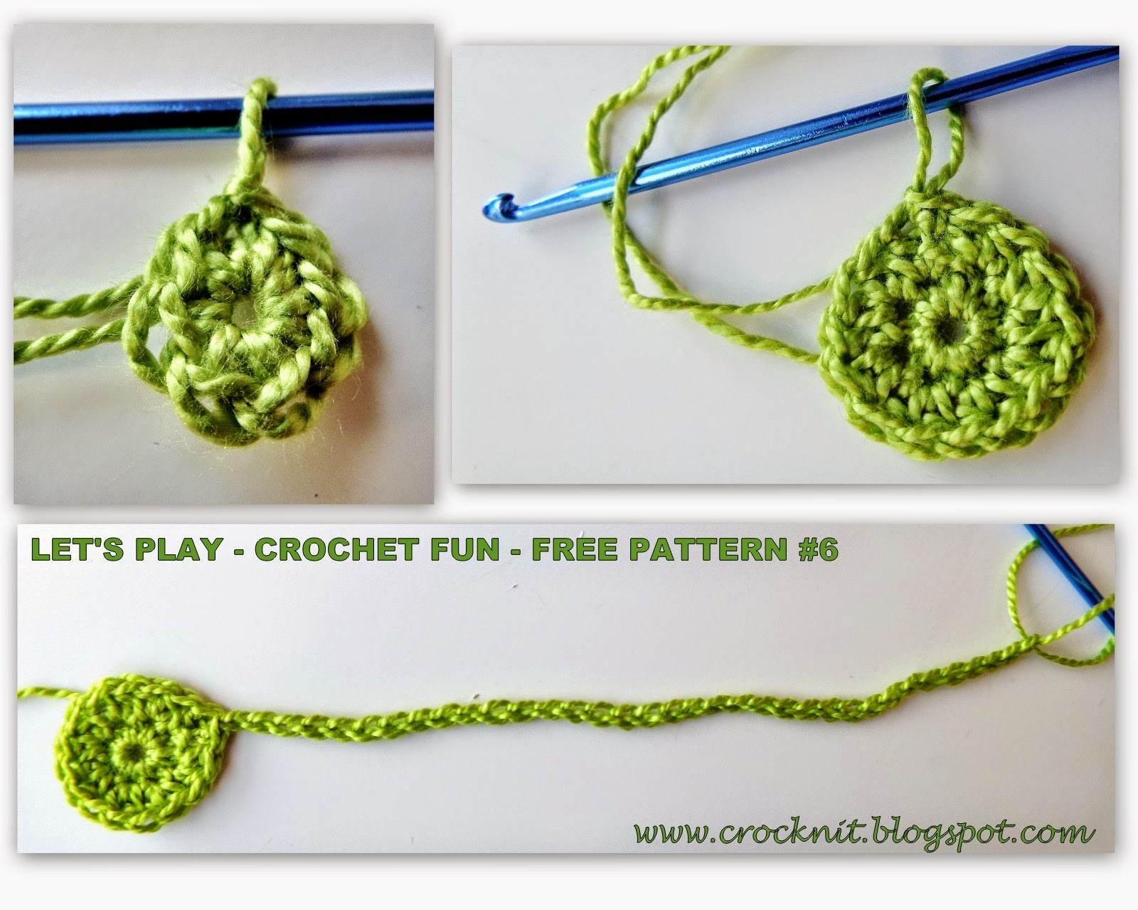 free pattern crochet bracelet cuff cotton