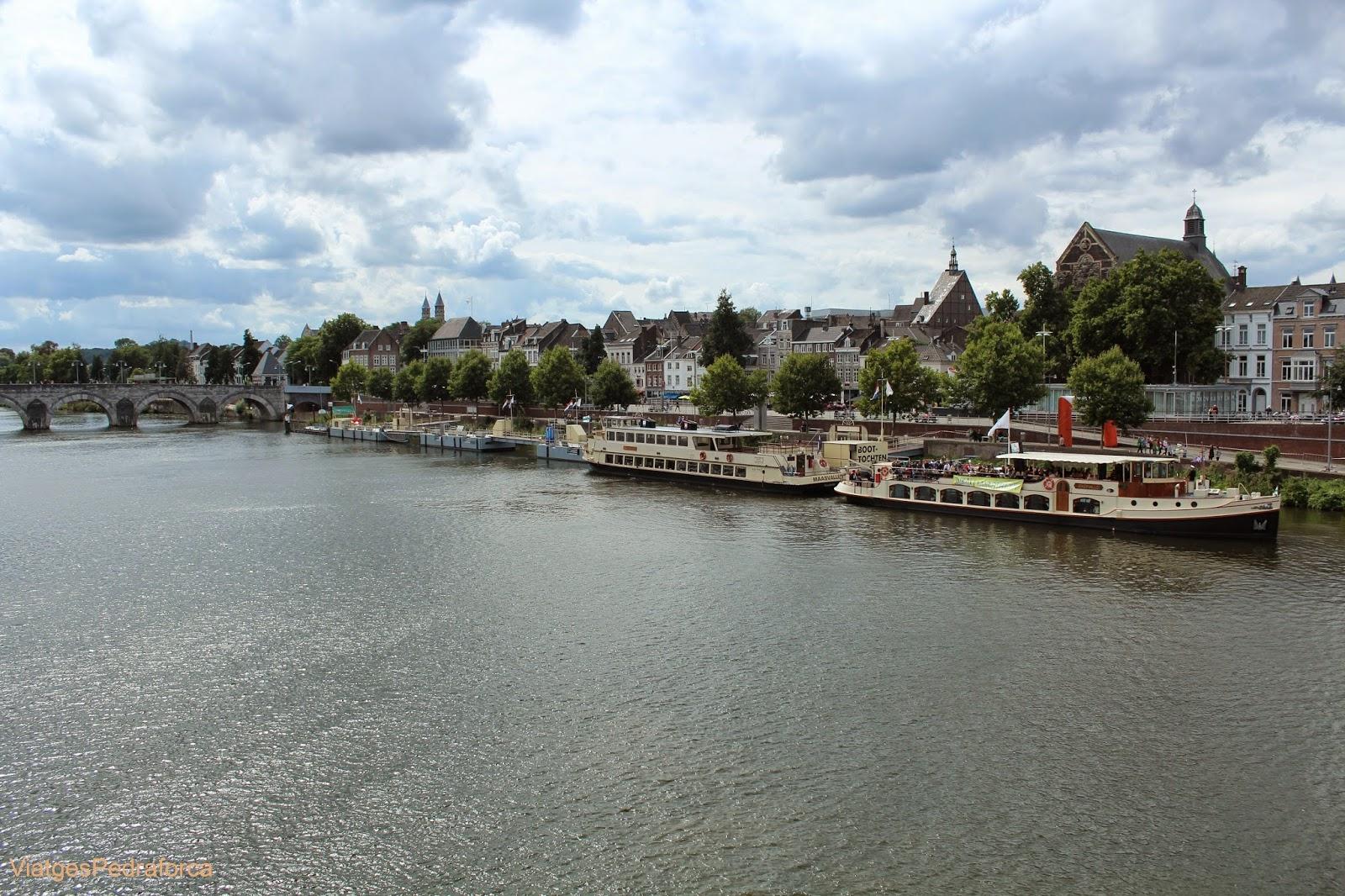 Maastricht Països Baixos riu Mosa