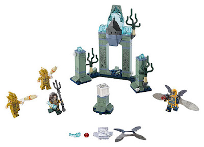 LEGO Super Heroes : Liga de la Justicia - 76085 Batalla en la Atlántida | 2017 | DC Comics |  PELICULA | contenido JUGUETE