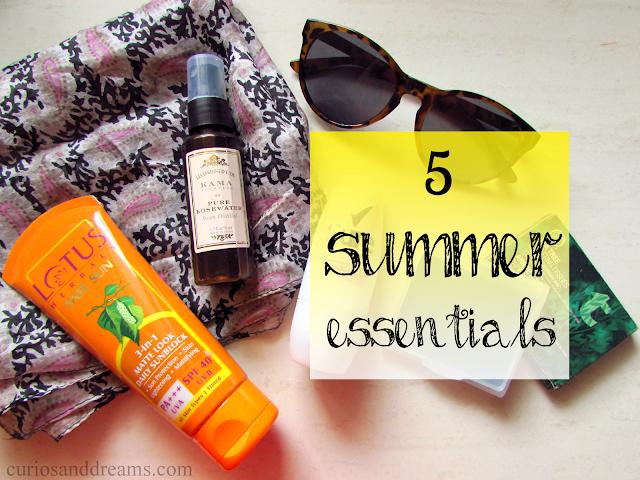 Summer essentials, Summer essentials india, top 5 Summer essentials