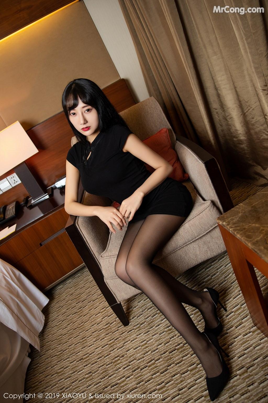 Image XiaoYu-Vol.145-He-Jia-Ying-MrCong.com-013 in post XiaoYu Vol.145: He Jia Ying (何嘉颖) (68 ảnh)