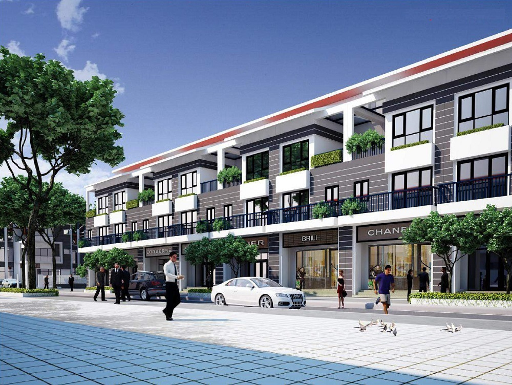 Shophouse dự án Foresa Villa Tasco - Mẫu 2