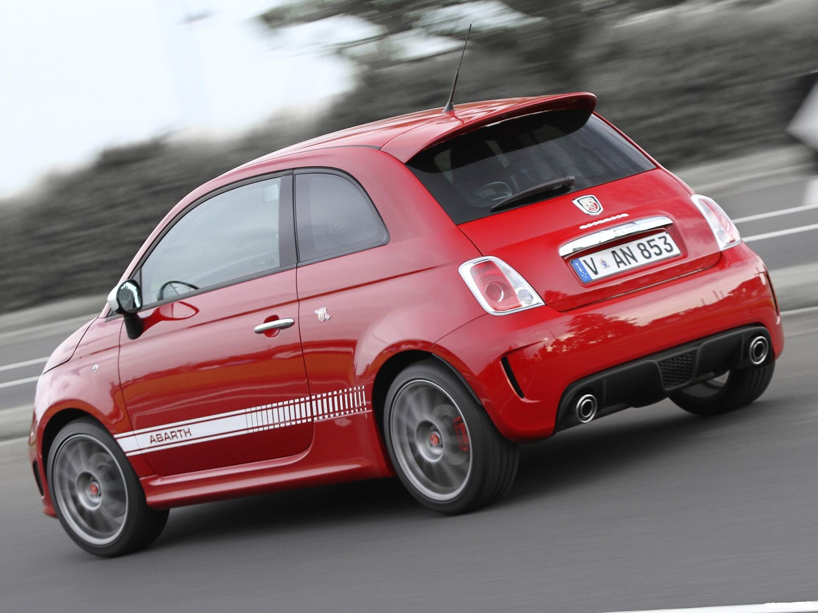 HD Wallpapers Desktop: Abarth Sports Car HD Wallpapers