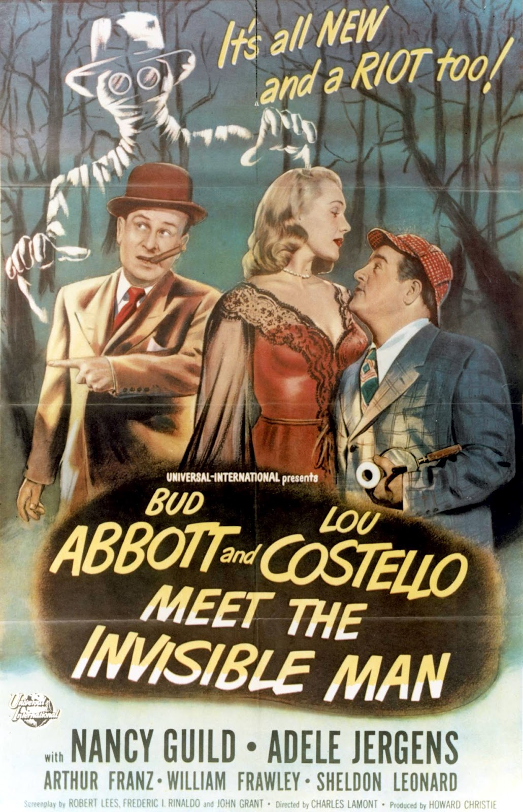 abbott and costello meet the invisible man 1951