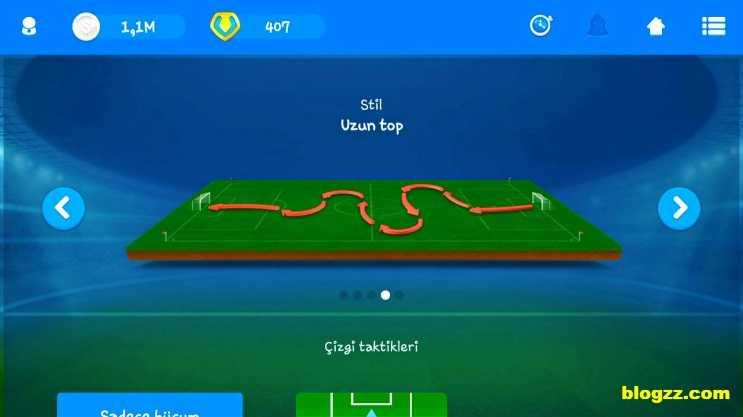 Online Soccer Manager'da rakibinize göre taktik belirlemelisiniz, aksi takdirde yenilirsiniz.