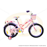 18 Inch Wimcycle Disney Princess Kids Bike