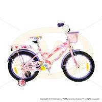 18 Inch Wimcycle Disney Princess Kids Bike