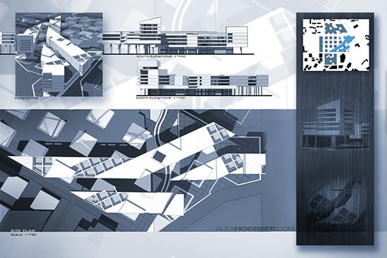 Teknik Quot Penyajian Quot Portofolio Desain Arsitektur Yang
