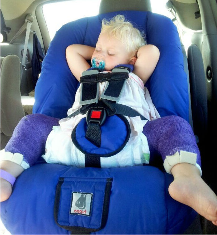 Child Safety Seat Nsw Hippo Spica Cast Car Seat