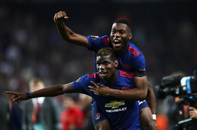 FULL-TIME Manchester United have won the Europa League