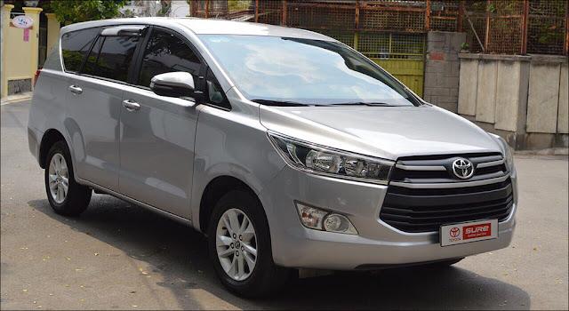 Toyota Innova 2.0E MT 2018 màu Bạc qua sử dụng