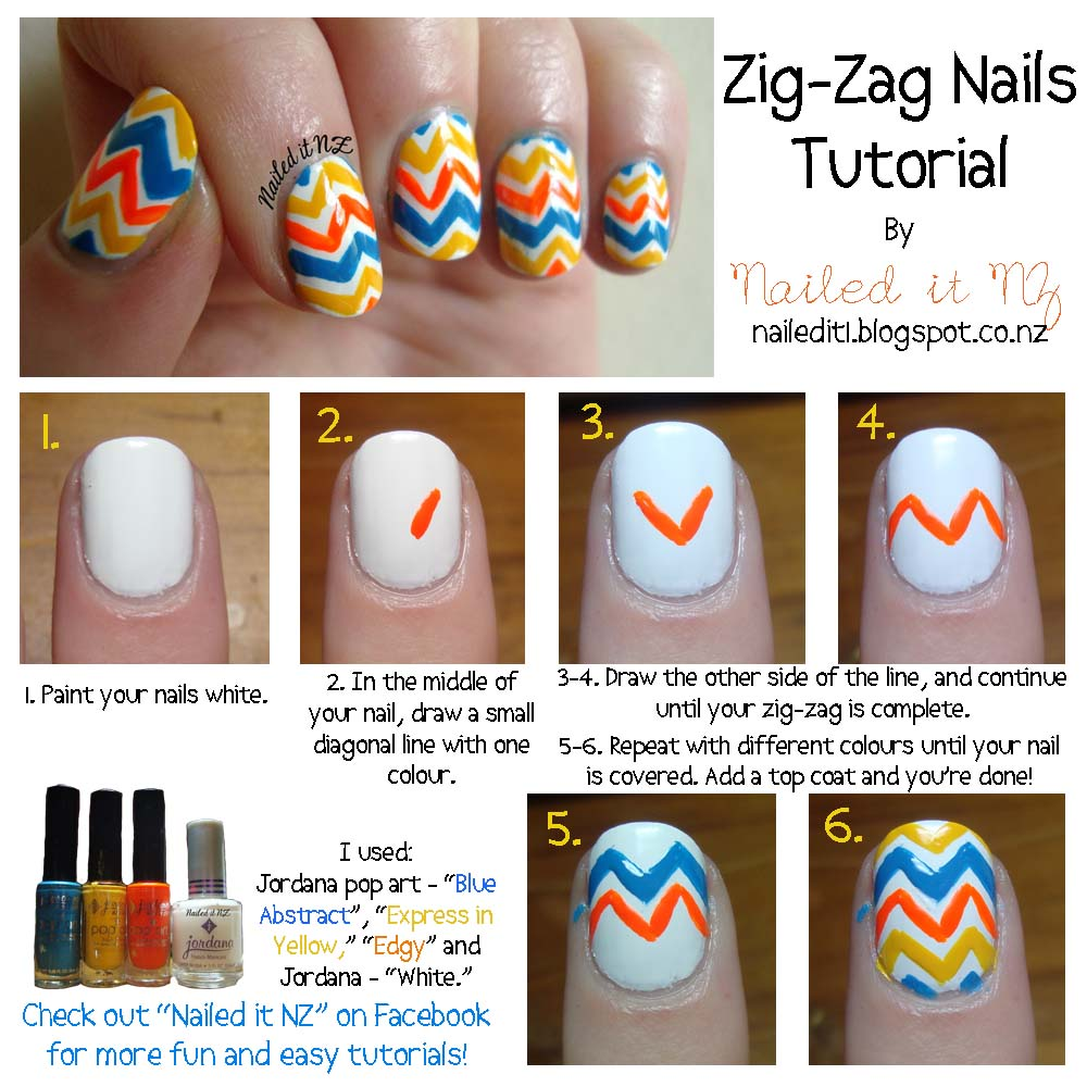 Nail Art For Short Nails #3