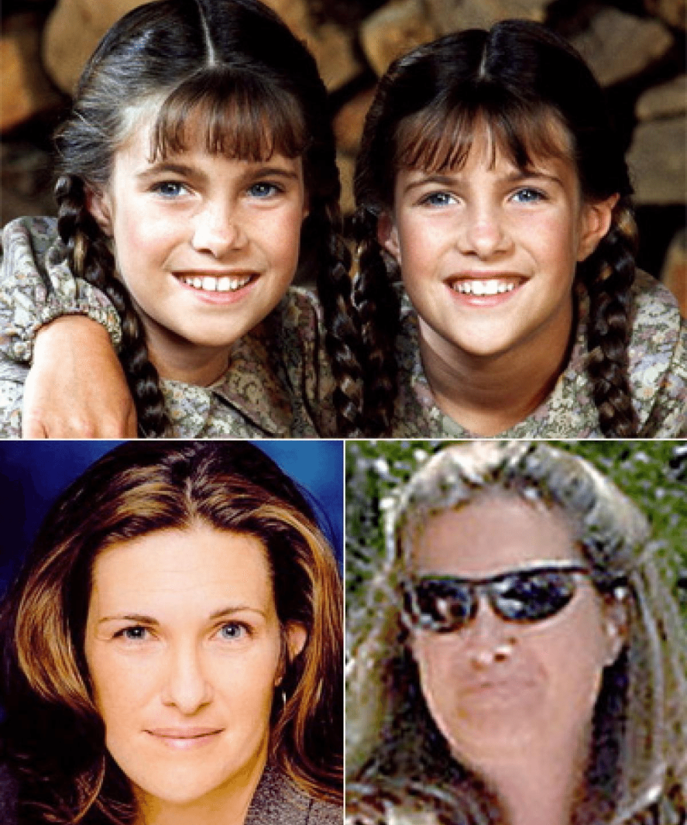 then and now portraits of 'little house on the prairie' actors