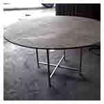 Meja Bulat untuk Khemah Kanopi