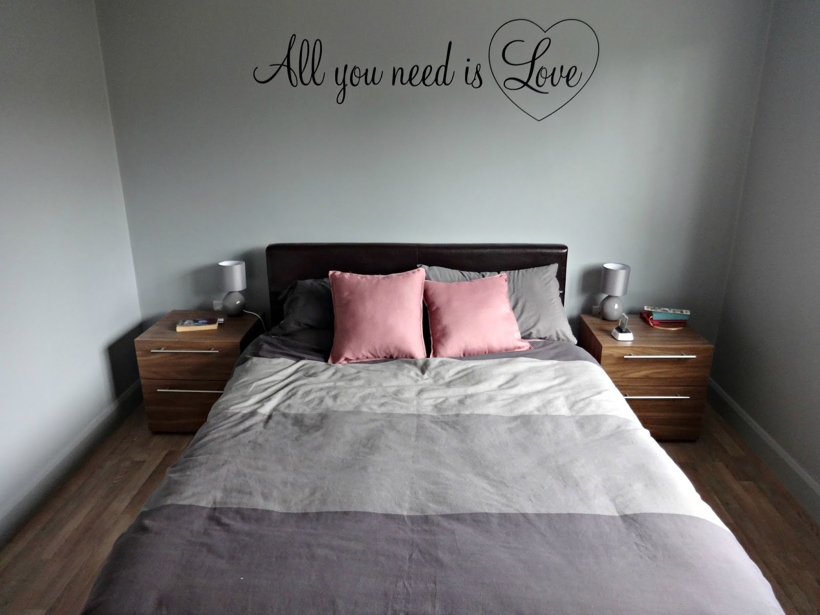 Bedroom makeover on a budget
