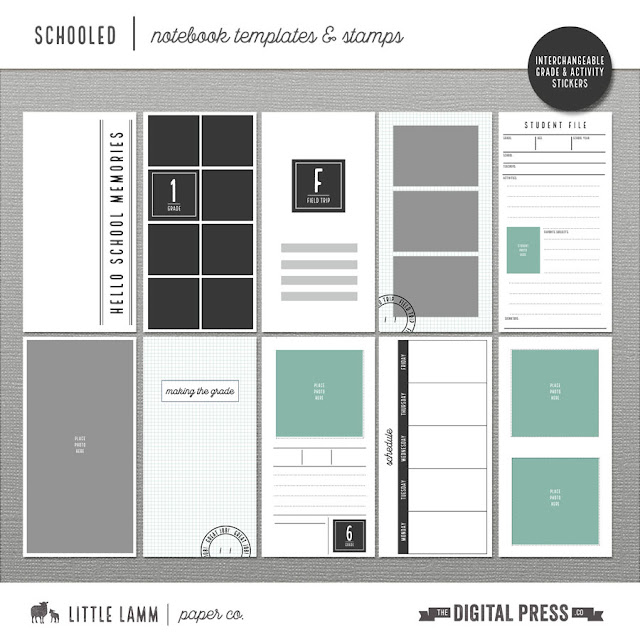 Last Chance For $1 Sale and Free Schooled Travel Notebook Templates