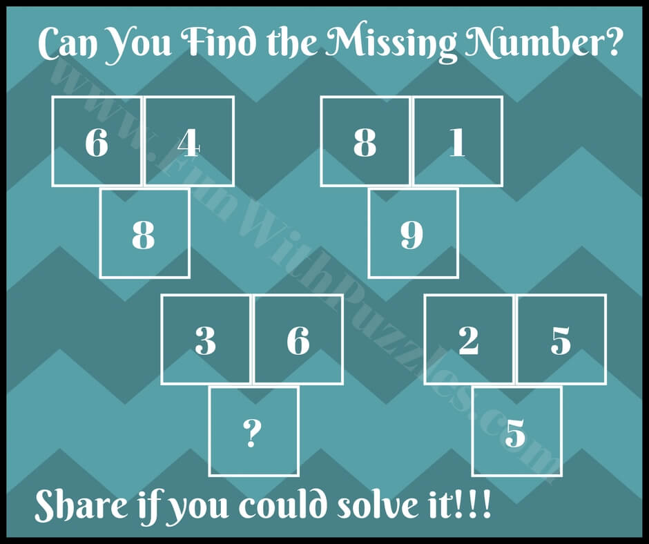 Clever Math brain Teasers for Students with Answers - Fun With Puzzles