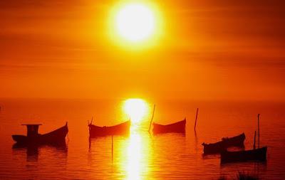 Por do Sol Lagoa dos Patos