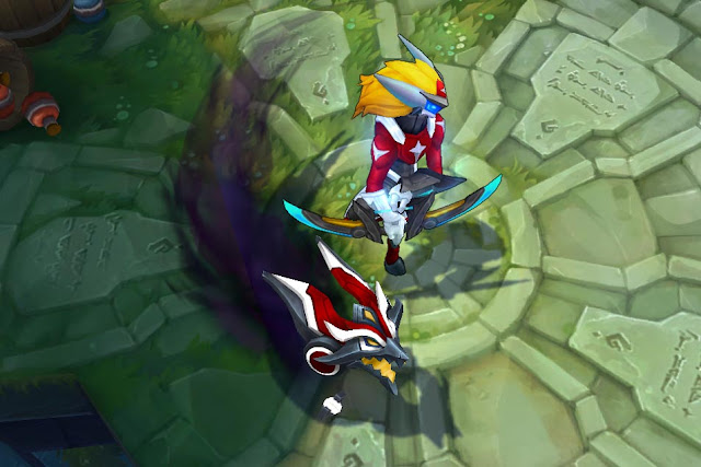 Mod Skin Kindred Super Galaxy Red