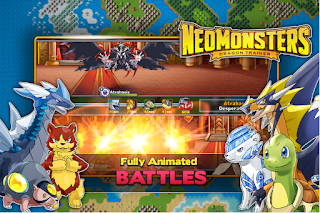 Download Game Neo Monsters V1.4.4 MOD Apk ( Mega MOD )
