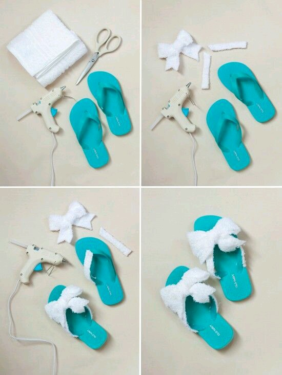 Make Your Slippers More Fashionable | Diy
