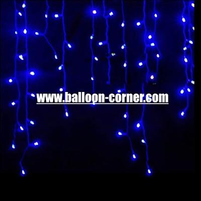 LED Curtain Lights / Lampu Tirai LED (Murah)