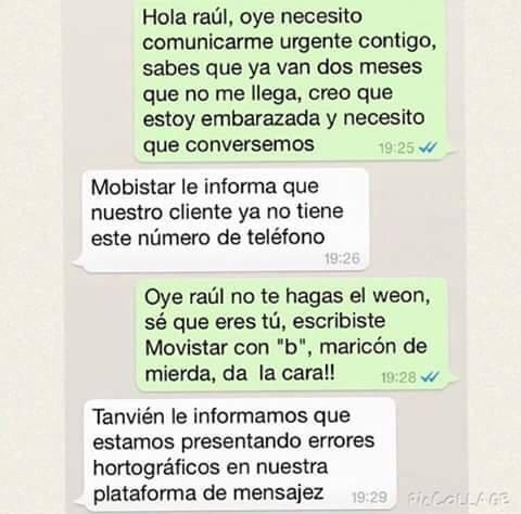 "Chistes de Venezuela: Chiste Imagen - ""Mobistar"" en whatsapp"