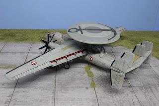 E-2C Hawkeye d'Italeri au 1/48.