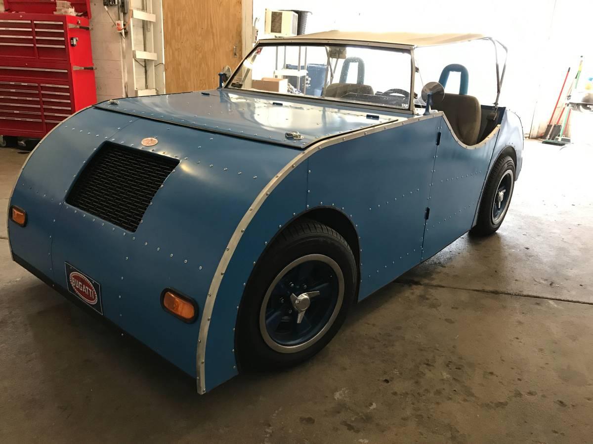 Daily Turismo: 1953 Bugatti Style? 1989 Chevrolet S-10 Chassis