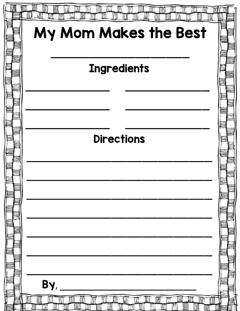 https://www.teacherspayteachers.com/Product/Mothers-Day-1828101