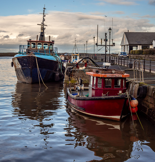 Photo of more boats in Maryport Harbour