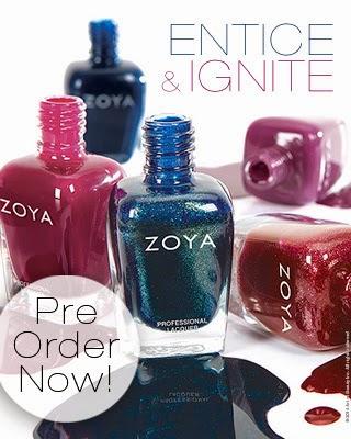 Zoya Intice & Ignite for Fall 2014