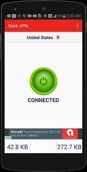 Stark VPN free unlimited internet on any ISP using open