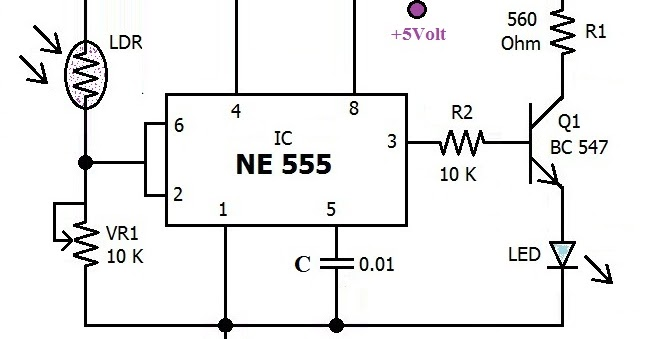 Hobby in Electronics: Automatic Emergency Light Circuit