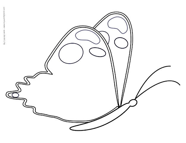 Butterfly Garden Coloring Pages  Find The Perfect Butterfly Page To Be  Coloured We Added