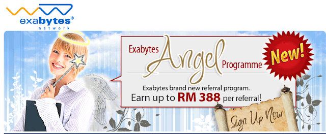 Affiliate Exabytes Angel Program