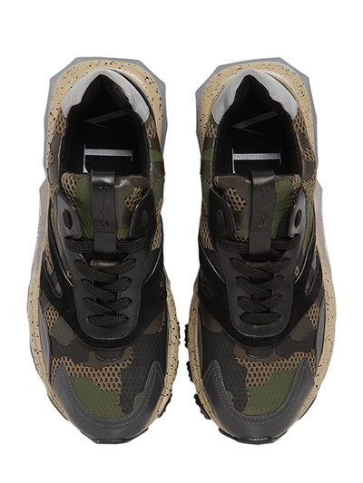 326ad5af7 Camo Connection  Valentino Garavani Camouflage Bounce Leather Sneaker