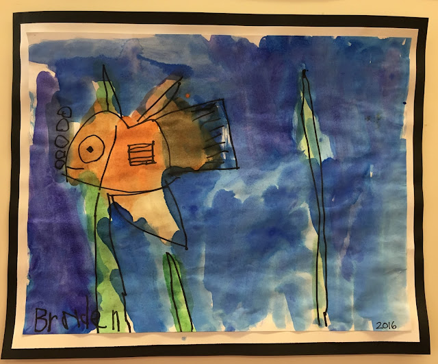 Fish habitats- incorporate art into your science curriculum