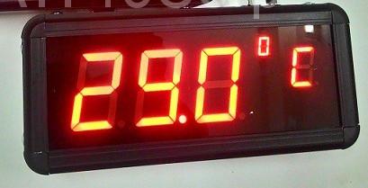 Đồng hồ đo nhiệt độ Văn phòng - Nhà Xưởng