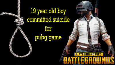 19 year old boy committed suicide for pubg game
