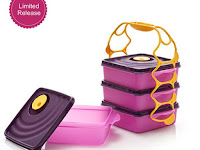 Jual Rantang Makan Crystal Wave Goodie Box Tupperware