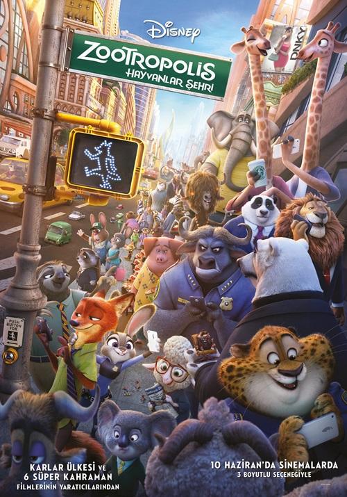 Zootropolis: Hayvanlar Şehri (2016) Film indir
