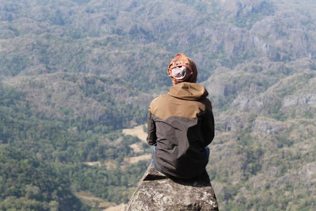 Puncak Gunung Bulusaraung Sulawesi Selatan