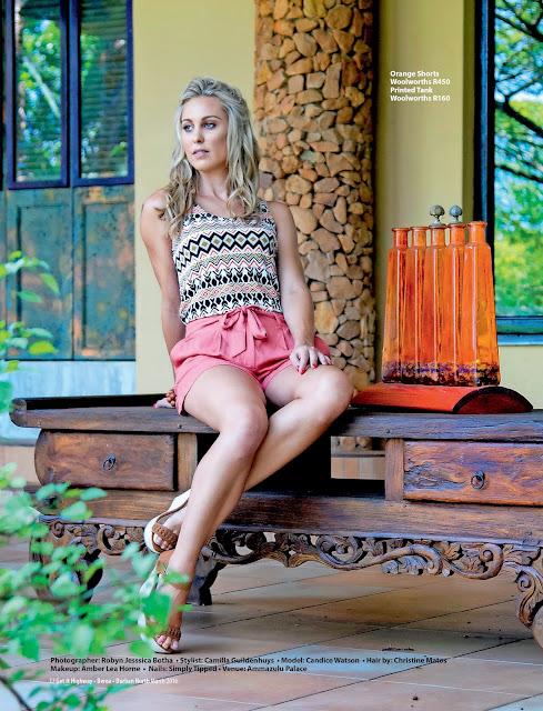Jane Wonder    Fashion - African Sun theme
