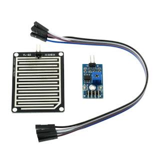 Rain Sensor interfacing with Arduino