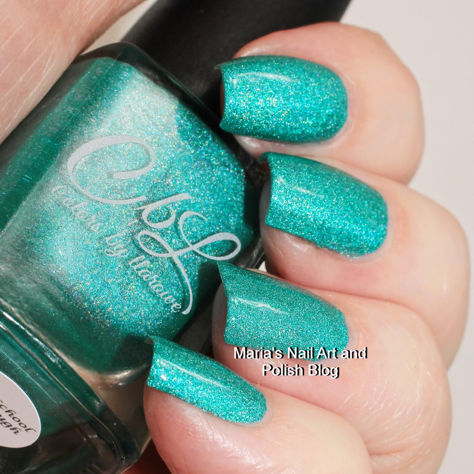 Marias Nail Art And Polish Blog Flushed With Stripes And: Marias Nail Art And Polish Blog: Colors By Llarowe Krispy