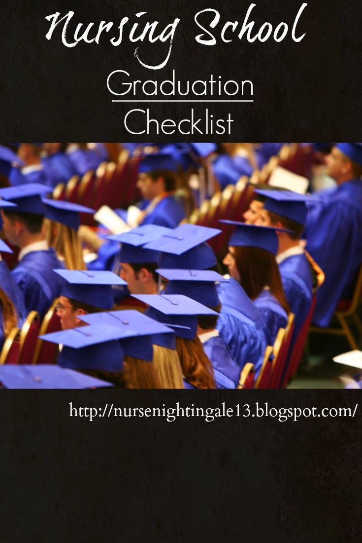 Nurse Nightingale Nursing School Graduation Checklist
