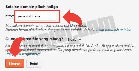 Mengubah Domain blogspot.com Menjadi com Dengan Cloudflare