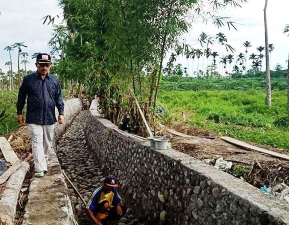 Bupati Ali Mukhni : Irigasi Banda Baru Tandikek Mampu Dongkrak Hasil Panen Petani